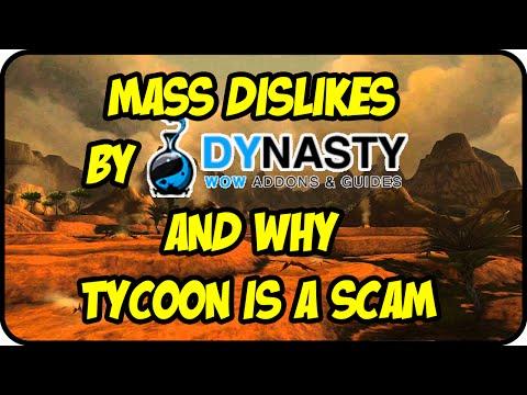 Mass Dislikes & Dynasty Addons/Tycoon Scam