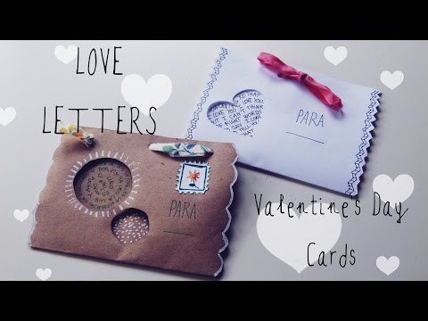 How to make cute envelopes | DIY gifts for boyfriend |Easy