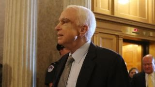 McCain returns, Senate takes major step in healthcare reform