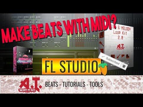Using MIDI To Make A Unique Beat in FL Studio