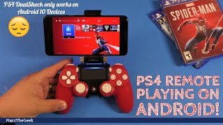 PS4 Remote Playing on Android! (Read Update)