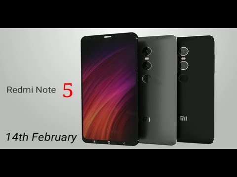 Redmi Note 5 Official Lunch 14th February