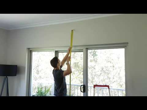 How To Install Curtain Rods & Tracks