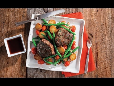 Herb-Rubbed Beef Tenderloin Filet   Price Chopper How-To