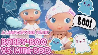 A legnagyobb pánik Bobby-BOO vs Mini BOO - Bellies Babák
