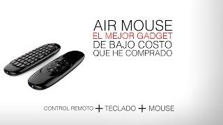 Air Mouse Control remoto | El mejor Gadget para controlar tu pc desde el sillón | Ejian