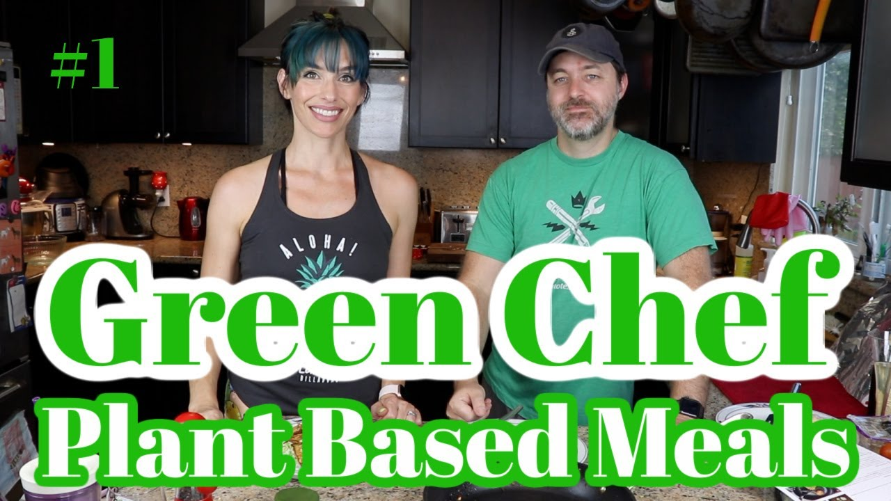 GREEN CHEF Plant Based Meal Kit | JAPANESE VEGETABLE FRITTERS