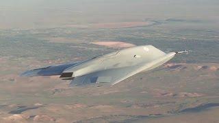 BAE Systems - Taranis Unmanned Combat Air Vehicle (UCAV) First Flight [1080p]