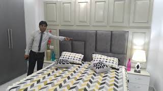 new 3bhk fully furnished builder floors apartments society flat in dwarka  for sale - 9711844789