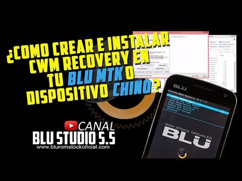 Como crear e instalar CWM recovery en