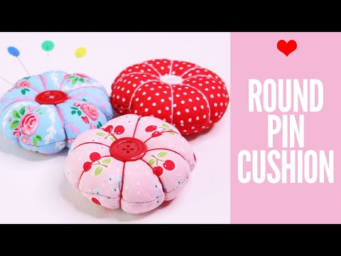 Easy DIY Pincushion Patterns - How to make a pincushion
