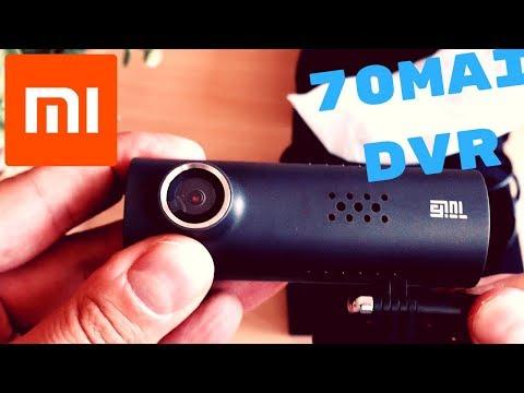 Xiaomi 70 minutes (70mai) car DVR - review, samples and comparison to SJCAM SJ4000