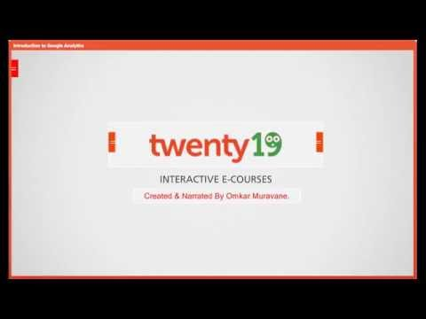 Google Analytics - Twenty19