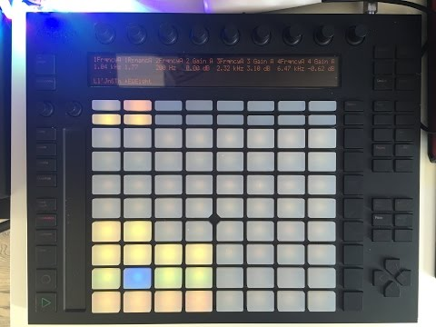 How to make a Trap Beat on the Ableton Push
