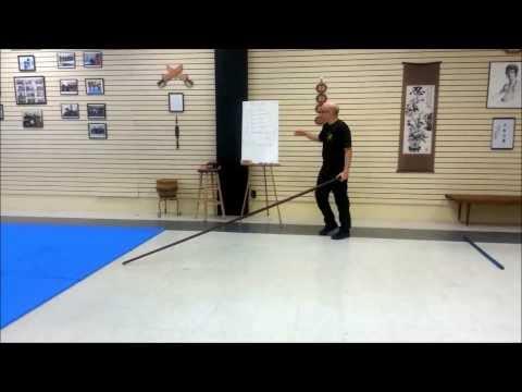 Wing Chun Dragon Pole Workout