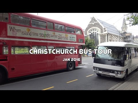 Christchurch Sightseeing Bus, New Zealand