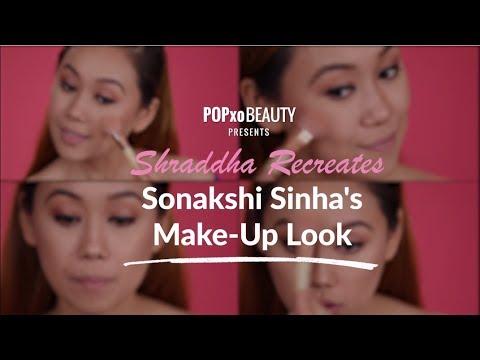 Shraddha Recreates Sonakshi Sinha's Make-Up Look - POPxo Beauty