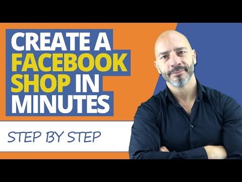 Create a Facebook Shop for your Facebook Page