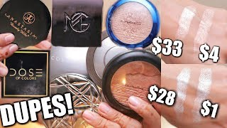 CHEAP DUPES FOR POPULAR HIGH END HIGHLIGHTERS