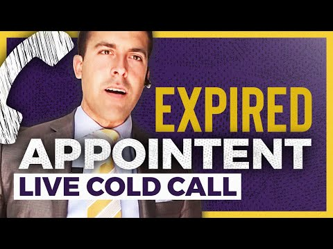 LIVE Expired Cold Call Appointment SET!