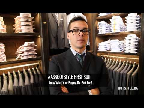 #AskGotstyle Tips On Buying Your First Suit
