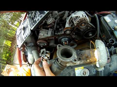 2003 Ford Mustang Thermostat Replacement 3.8L V6