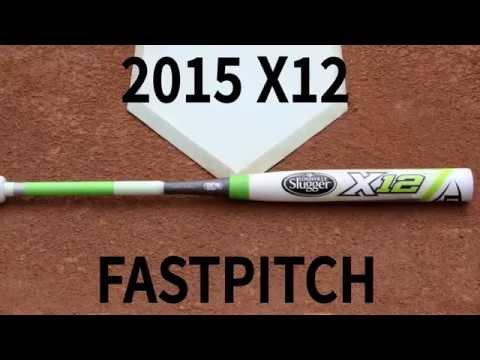 2015 Louisville Slugger X12 Fastpitch Softball Bat FPXL152