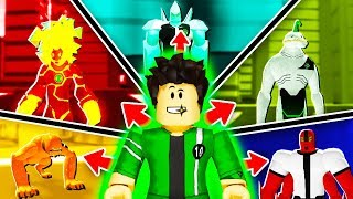 BECOME BEN 10 & TRANSFORM IN ROBLOX