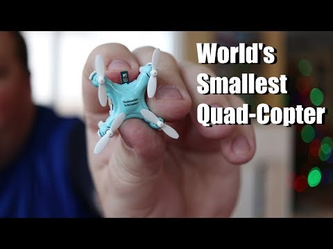 World's Smallest Quad Copter