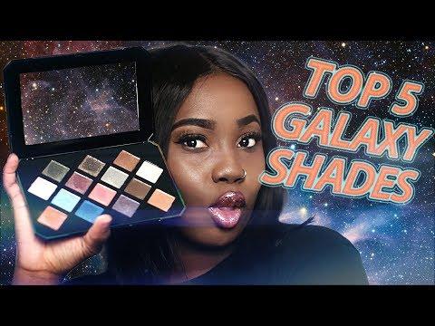 Top 5 Galaxy Palette Shades | Fenty Beauty Galaxy Palette