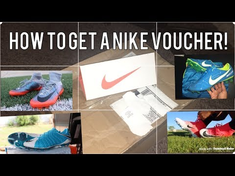 How to get a Nike Voucher! (How to get free cleats!)