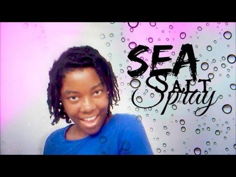 NATURAL GIRLS CAN USE SEA SALT SPRAY TOO!!!