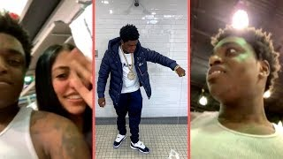 "Kodak Black Getting Big Fan Love While Out Shopping In Florida On Live ""They Love Project Baby"""