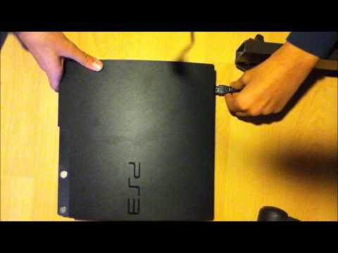 PS3 Slim - How to turn on the Fan