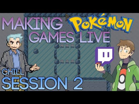 Making Pokemon Games Live - Pokemon Chill (Session 2)