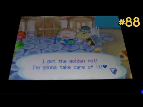 Animal Crossing: Wild World 100% - #88: Golden Net!
