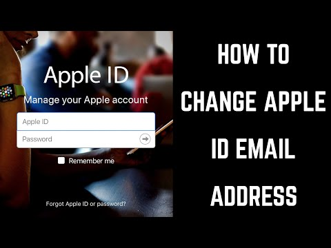 How to Change Apple ID Email