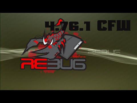 PS3 CFW Rebug 4.76.1 D-REX Full Installation Tutorial