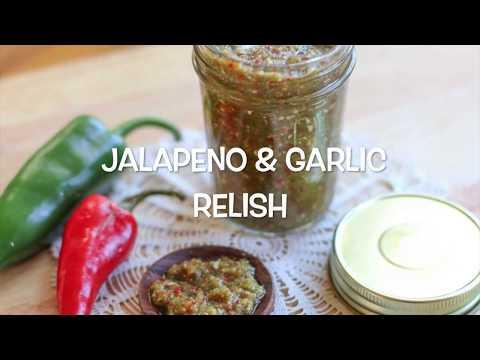 Hot Jalapeno Relish- Easy Paleo & Whole 30 Jalapeno Garlic Relish
