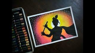 How To Draw Krishna Janmashtami Scenery Janmashtami Festival The