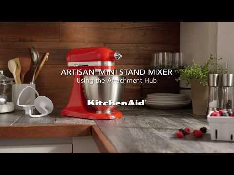 How to: Using the Attachment Hub | KitchenAid Artisan Mini