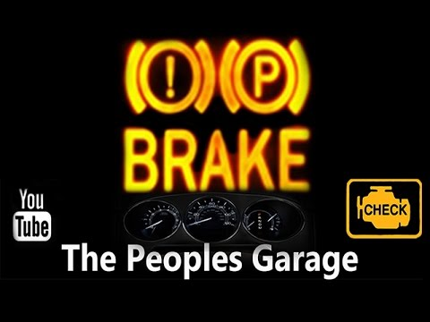 How to Fix a Red Brake Light On Your Dash