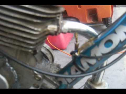 how to modd you 80/66cc bike muffler
