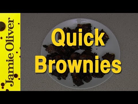 Jamie Oliver's Super-Quick Brownies | EAT IT!