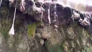 Download The Petrifying Well at Mother Shipton's Cave in Knaresborough North Yorkshire England 2015 Video