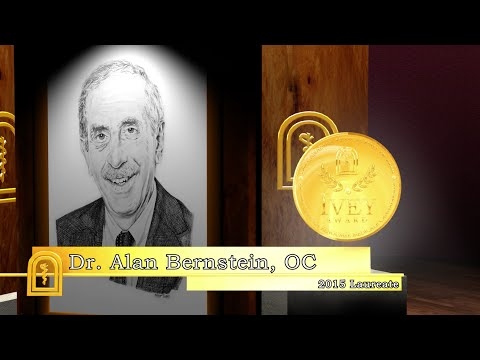 Dr. Alan Bernstein - 2015 Canadian Medical Hall of Fame Laureate