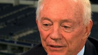 Dallas Cowboys Jerry Jones' emotional discussion over football