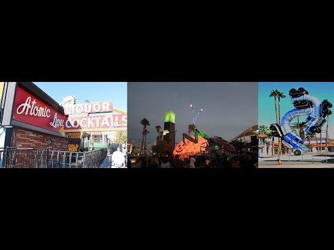 Walking Tour of Fremont Street East in Las Vegas, Nevada