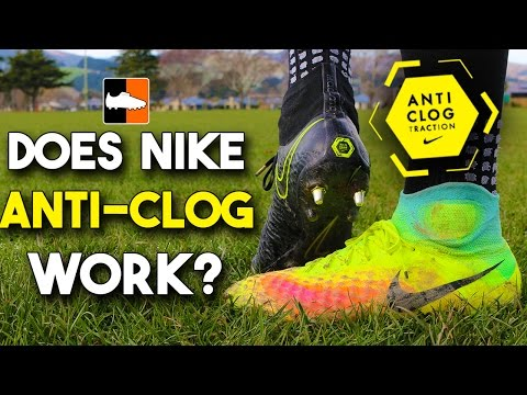 Does Anti-Clog Traction Work? Nike Magista Obra Boots Test