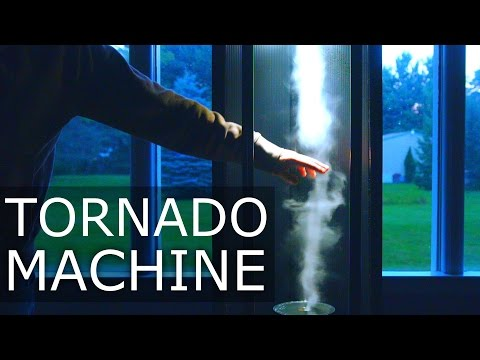 How To Make a DIY Tornado Machine [Full Tutorial] - NightHawkInLight